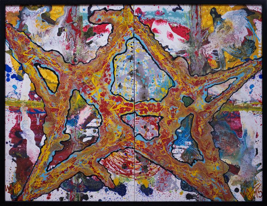 Picturi abstracte/ moderne Star A/B