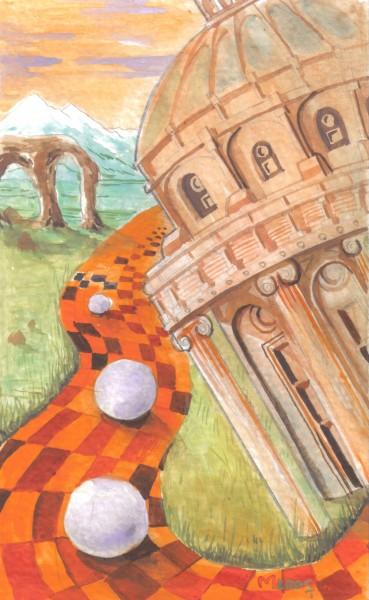 Picturi abstracte/ moderne Bile