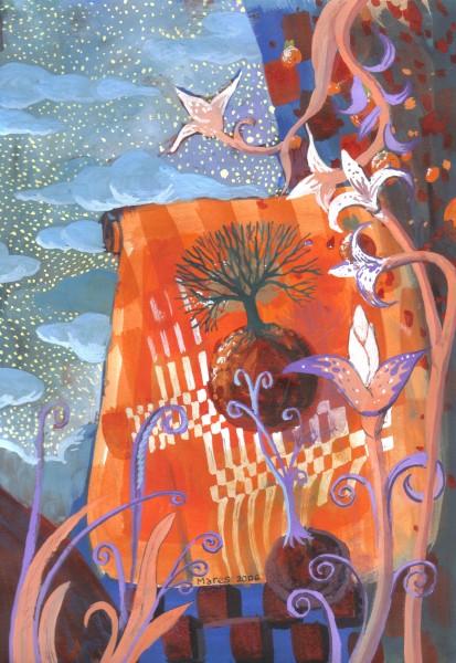 Picturi abstracte/ moderne Flori 2