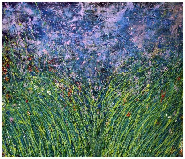 Picturi abstracte/ moderne ,,fugind prin iarba de nebun,,