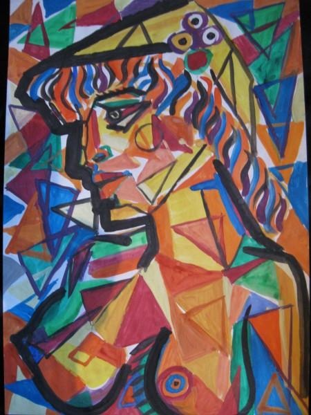 Picturi abstracte/ moderne Leana transformata