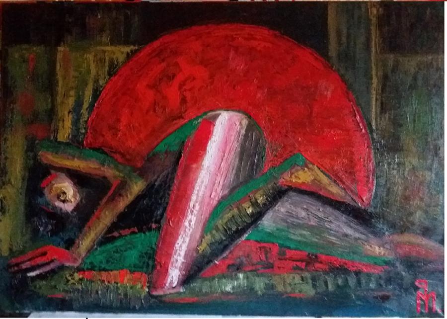 Picturi abstracte/ moderne Persuasiva