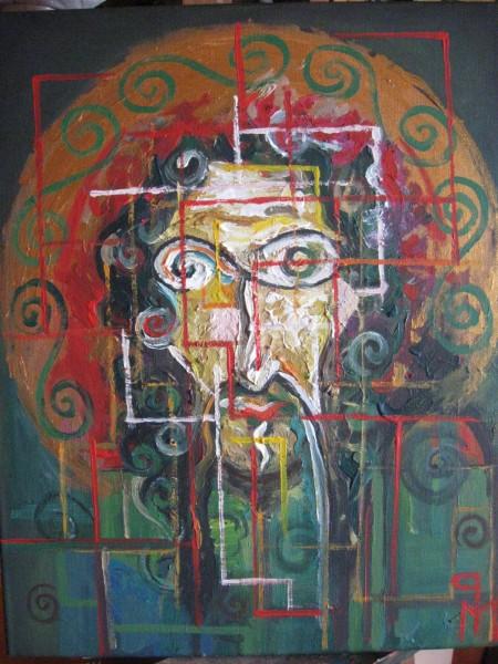 Picturi abstracte/ moderne Sfant martir