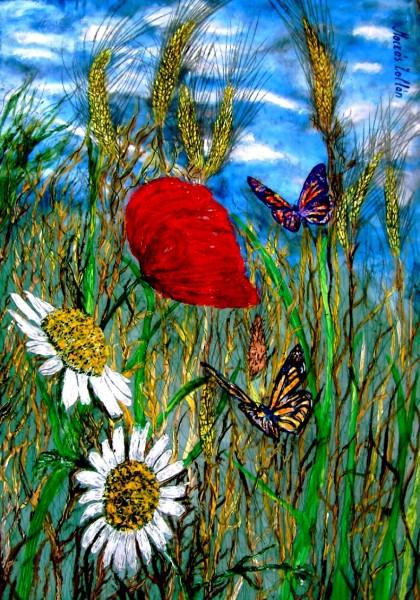 Picturi abstracte/ moderne His incredible termite his magic modified