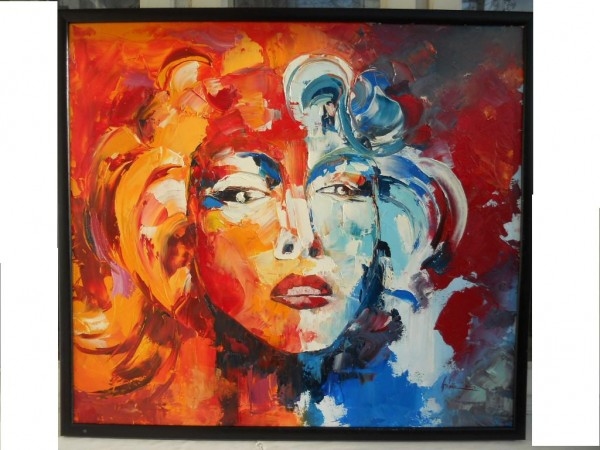 Picturi abstracte/ moderne Marilyn 1