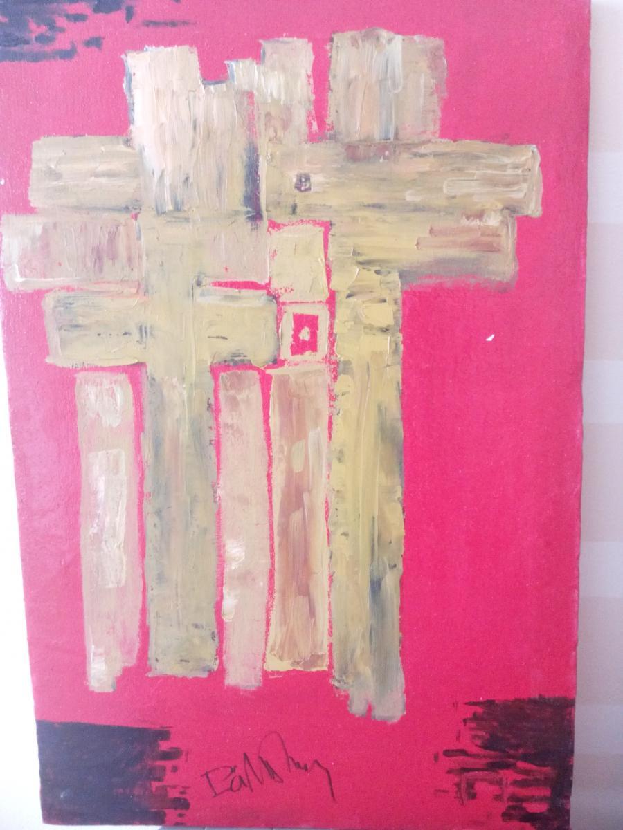 Picturi abstracte/ moderne Universu sacru