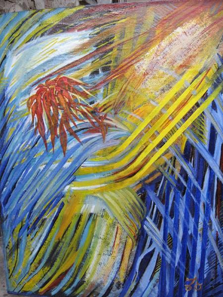 Picturi abstracte/ moderne Muzica elementelor primordiale