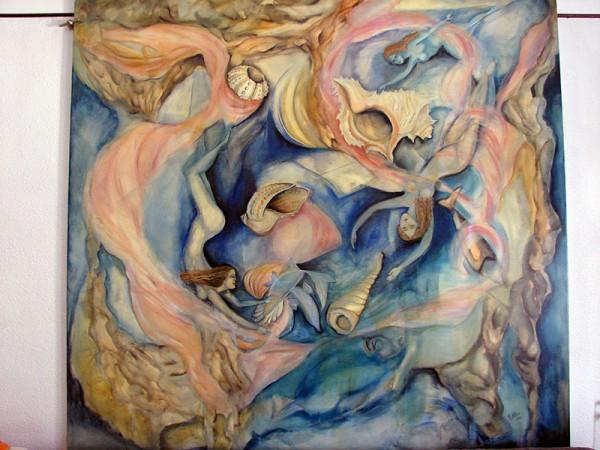 Picturi abstracte/ moderne Valsul idilic