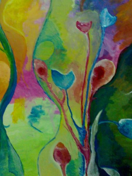 Picturi abstracte/ moderne Metamorfoza iii