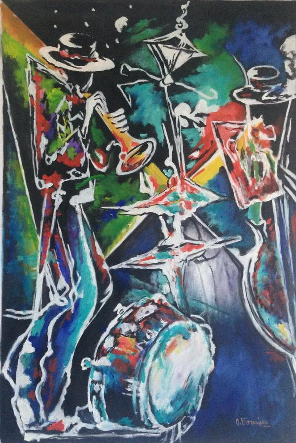 Picturi abstracte/ moderne jaz 2