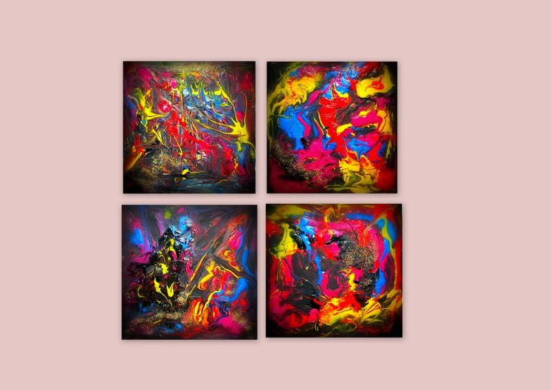 Picturi abstracte/ moderne COLOURS/