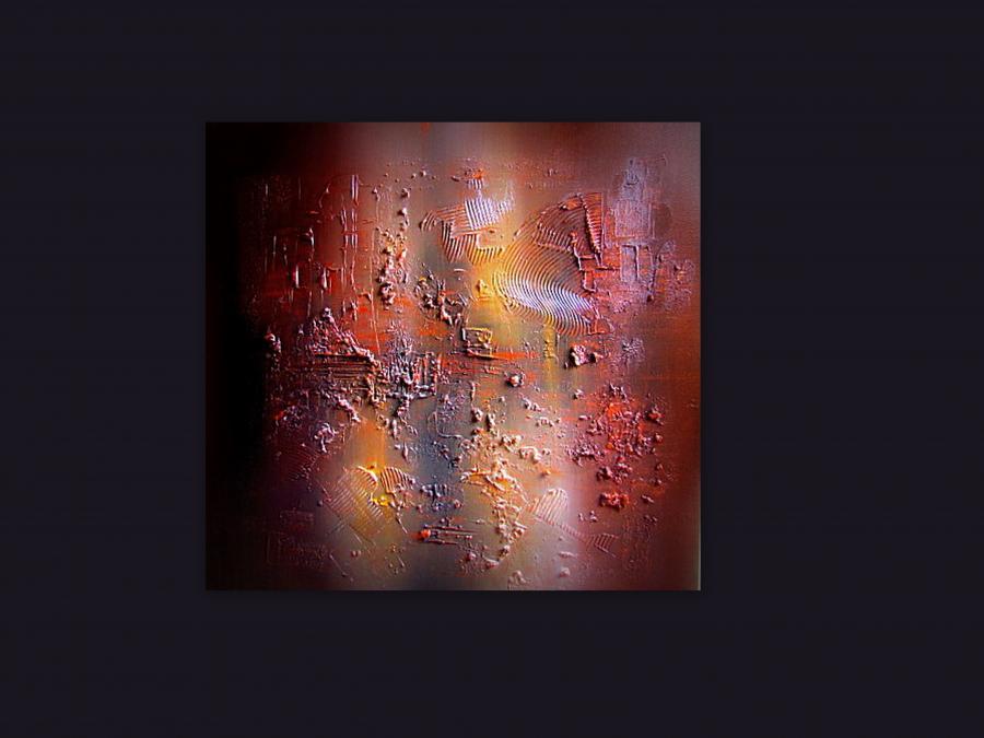 Picturi abstracte/ moderne COPPER