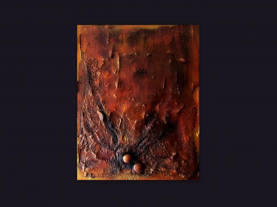 Picturi abstracte/ moderne COPPER 2