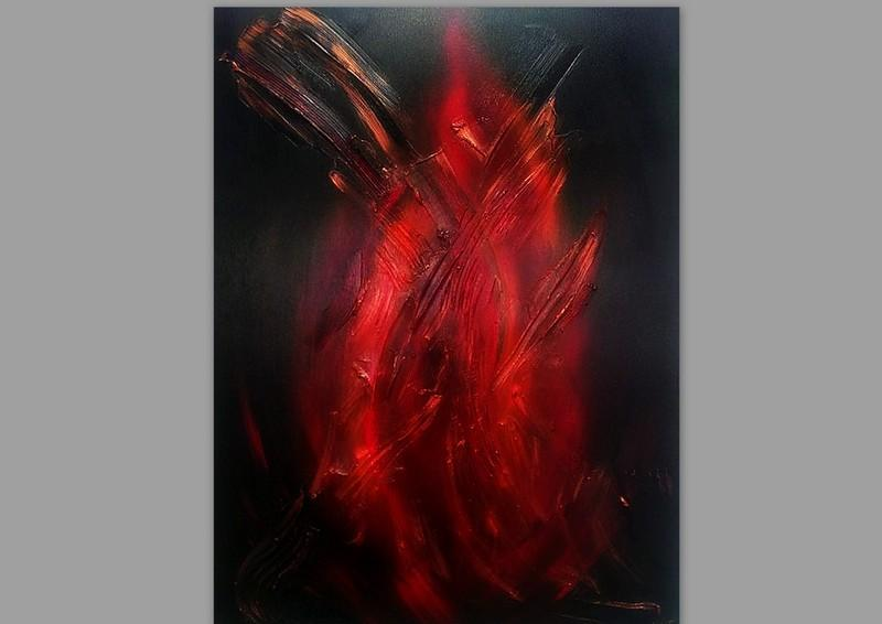 Picturi abstracte/ moderne FLAME 3