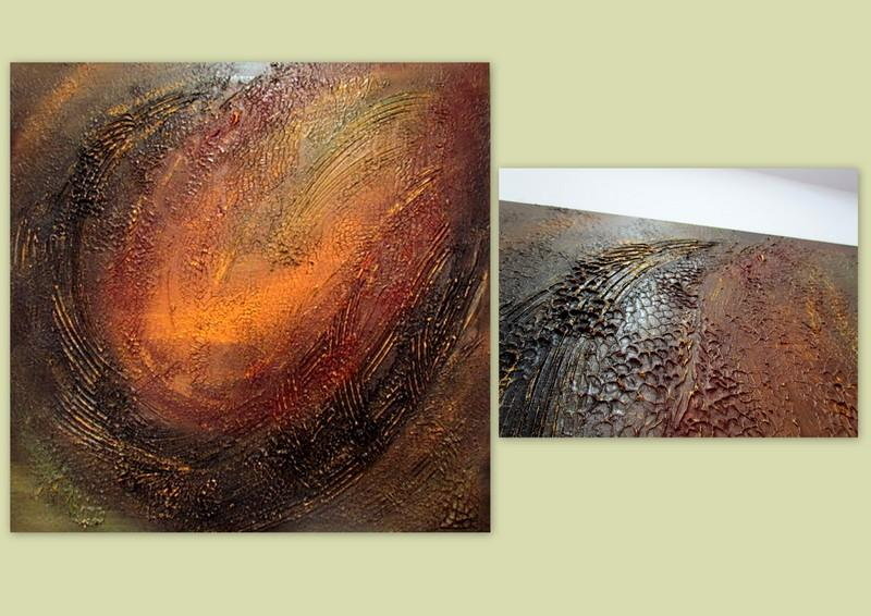 Picturi abstracte/ moderne JUNGLE  4