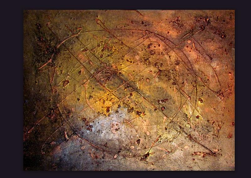 Picturi abstracte/ moderne METALLIC 3