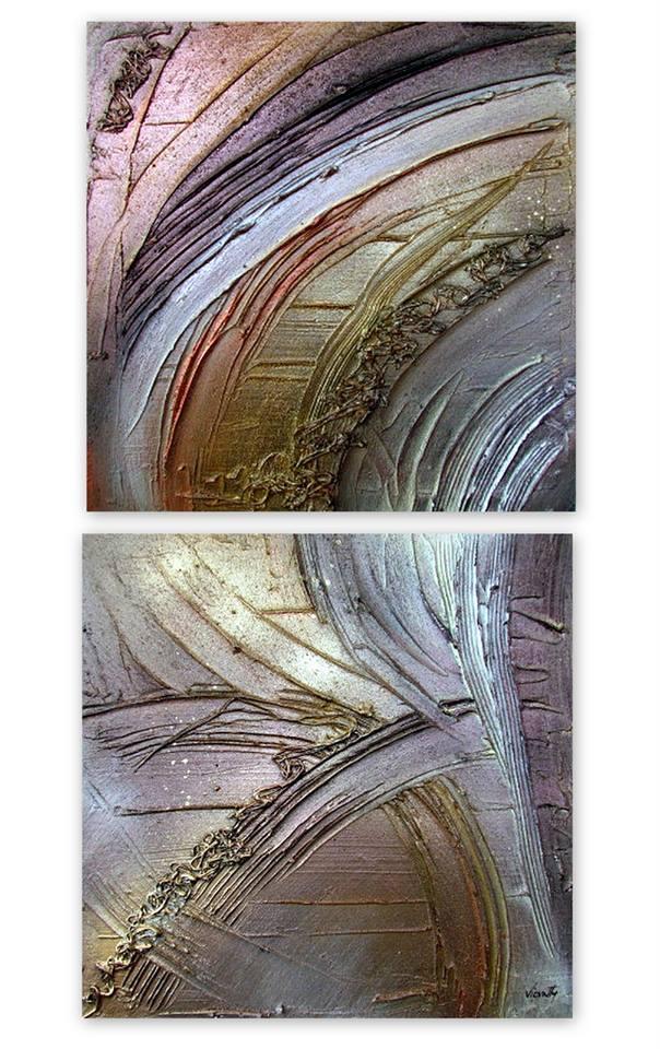 Picturi abstracte/ moderne METTALIC NEW 1