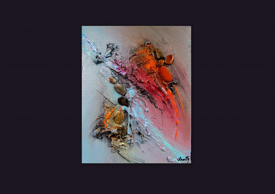 Picturi abstracte/ moderne OBSEDIAN 4