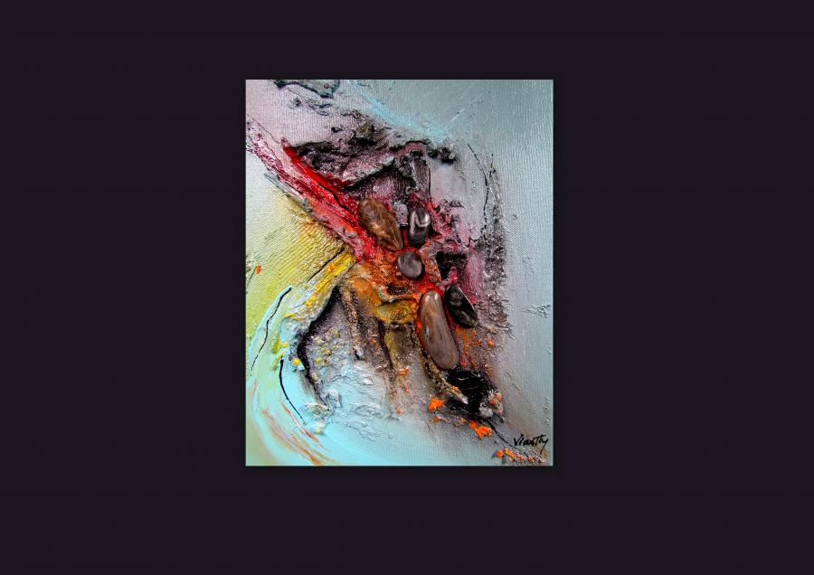 Picturi abstracte/ moderne OBSEDIAN 5