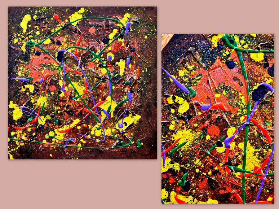 Picturi abstracte/ moderne PHOENIX