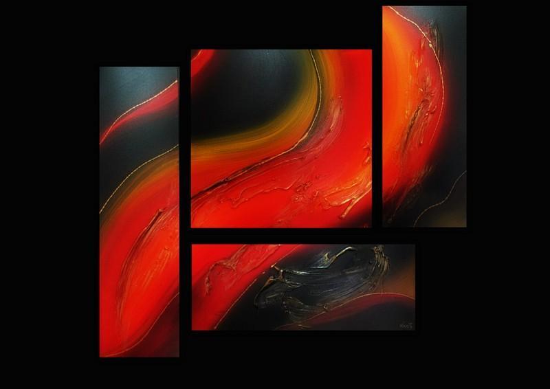 Picturi abstracte/ moderne RUBIN