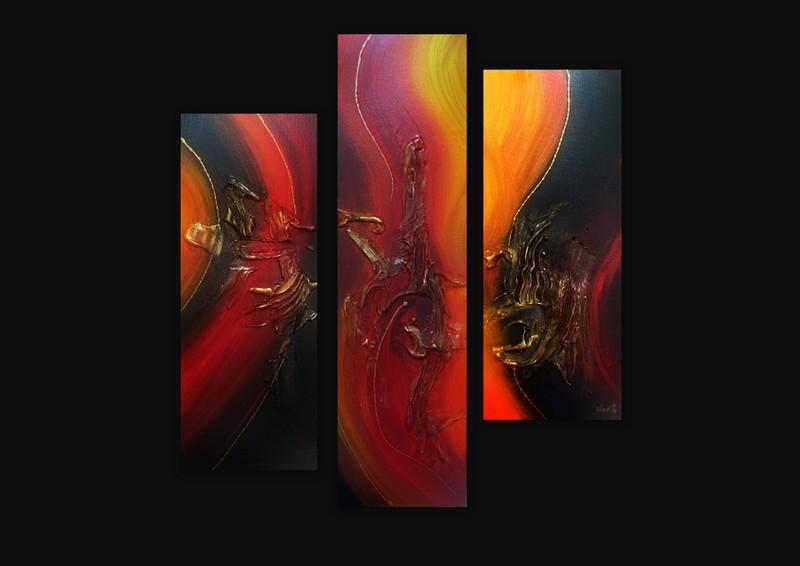 Picturi abstracte/ moderne RUBIN 4