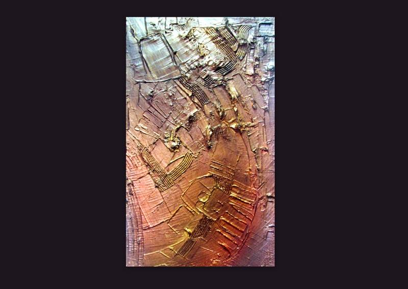 Picturi abstracte/ moderne RUSTY METAL 4