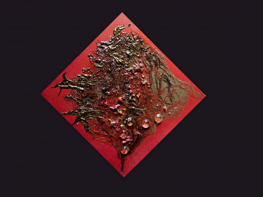 Picturi abstracte/ moderne SCARLET