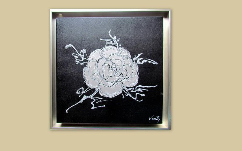 Picturi abstracte/ moderne SILVER RAISA