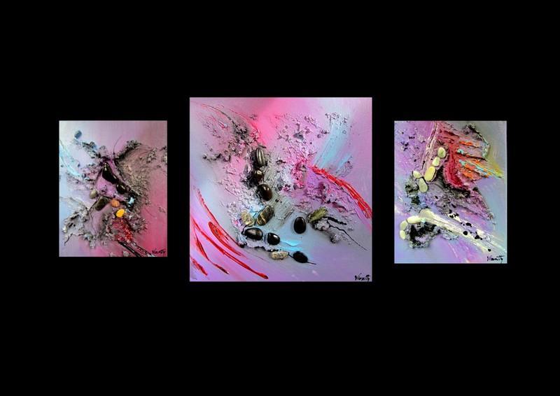 Picturi abstracte/ moderne STONES 2