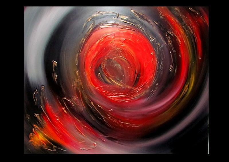 Picturi abstracte/ moderne SUN SET