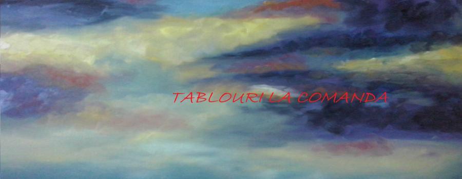 Picturi abstracte/ moderne culorile apusului 2