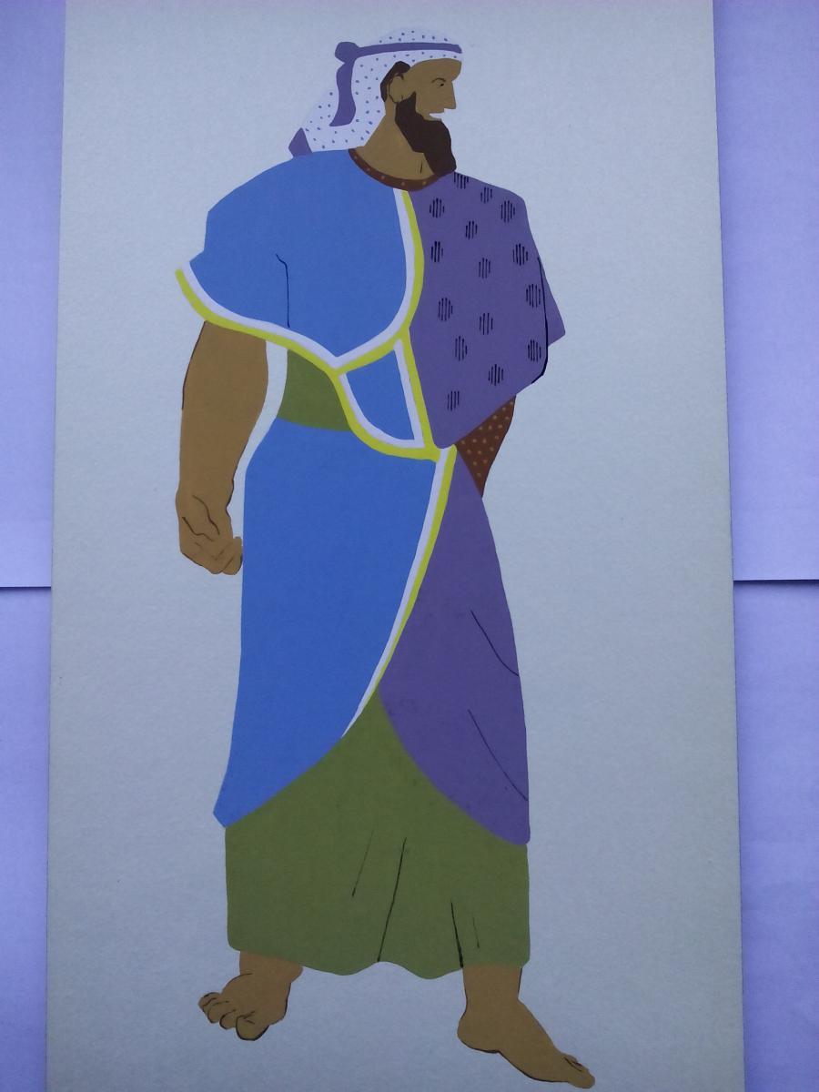 Picturi acuarela Phoenician Prince