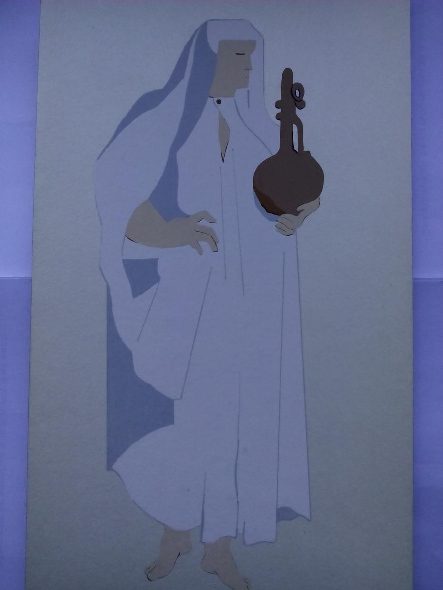 Picturi acuarela The Jews Nun
