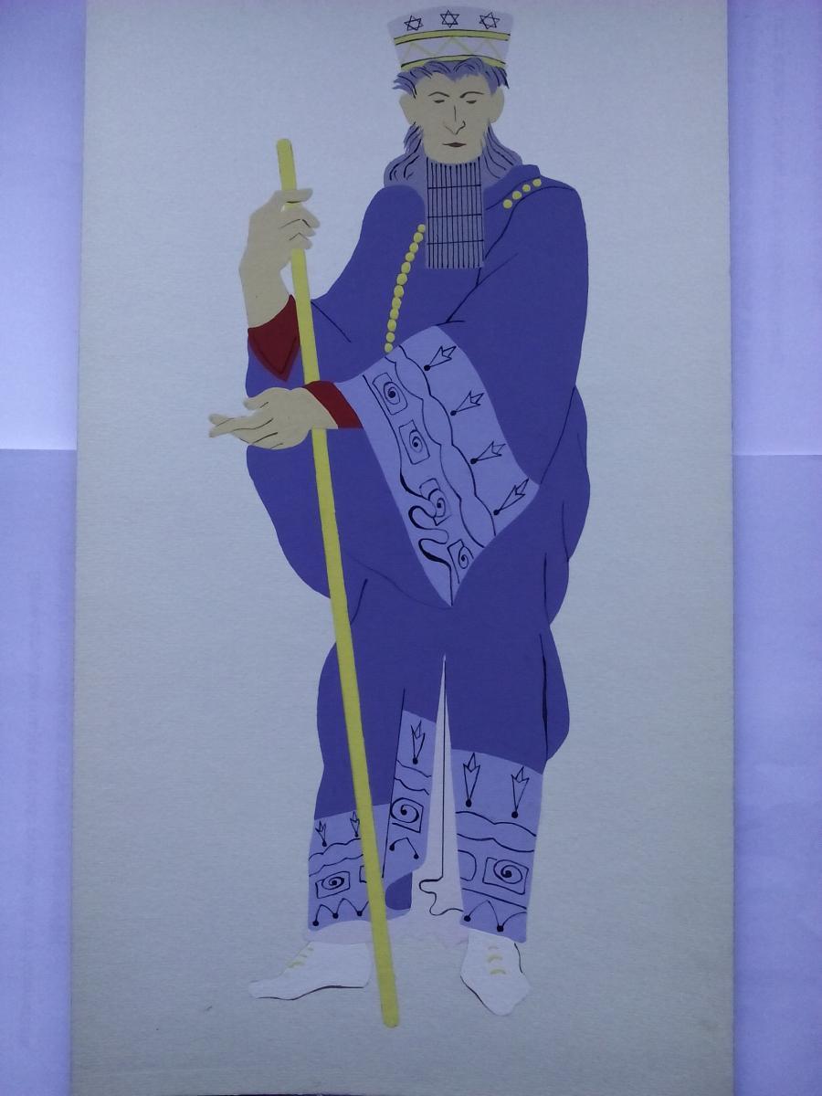 Picturi acuarela The Persians King