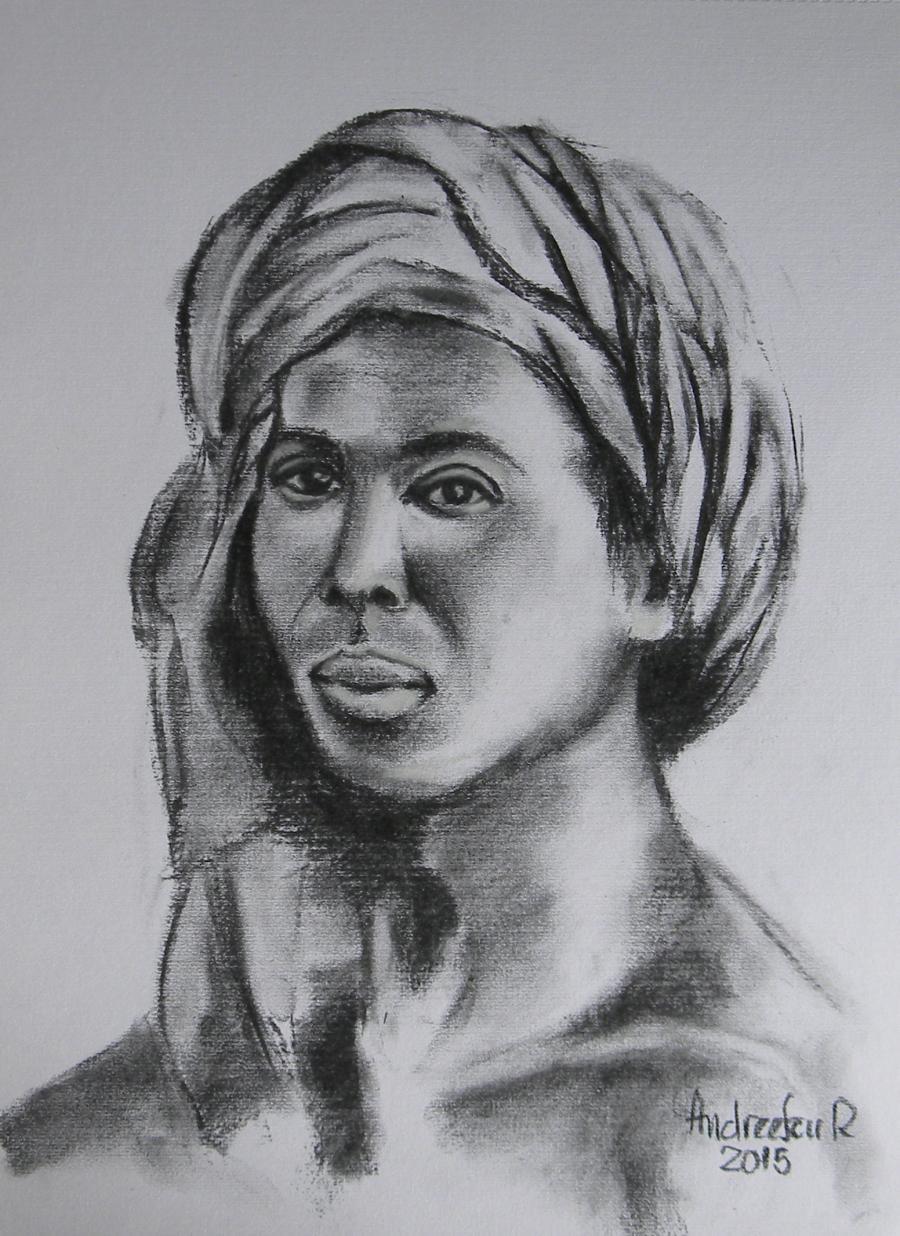 Picturi alb negru AFRICANA