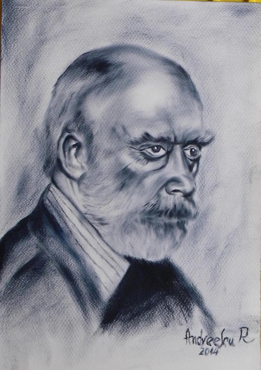Picturi alb negru ALBULESCU