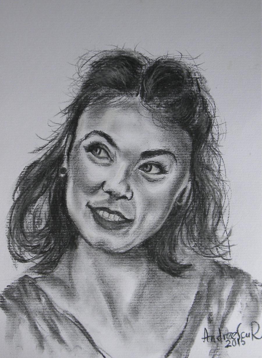 Picturi alb negru GEANINA