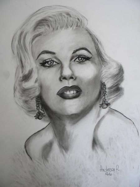 Picturi alb negru Marilyn monroe