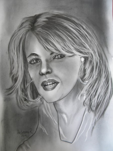 Picturi alb negru Mary