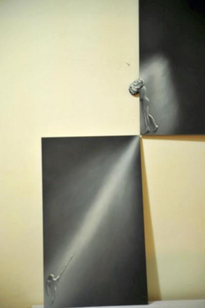 Picturi alb negru Speranta nu moare  canvas speranta + evadare