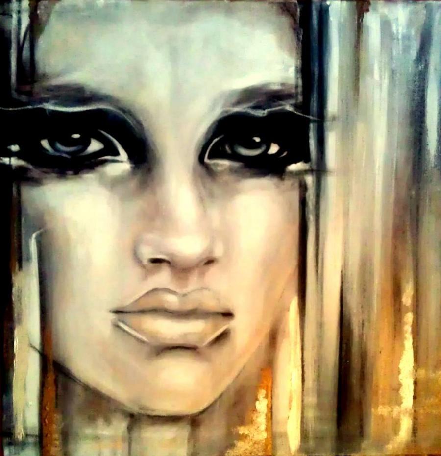 Picturi alb negru Portrait