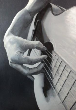 Picturi alb negru Vreau sa cant