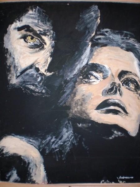 Picturi alb negru Alb si negru