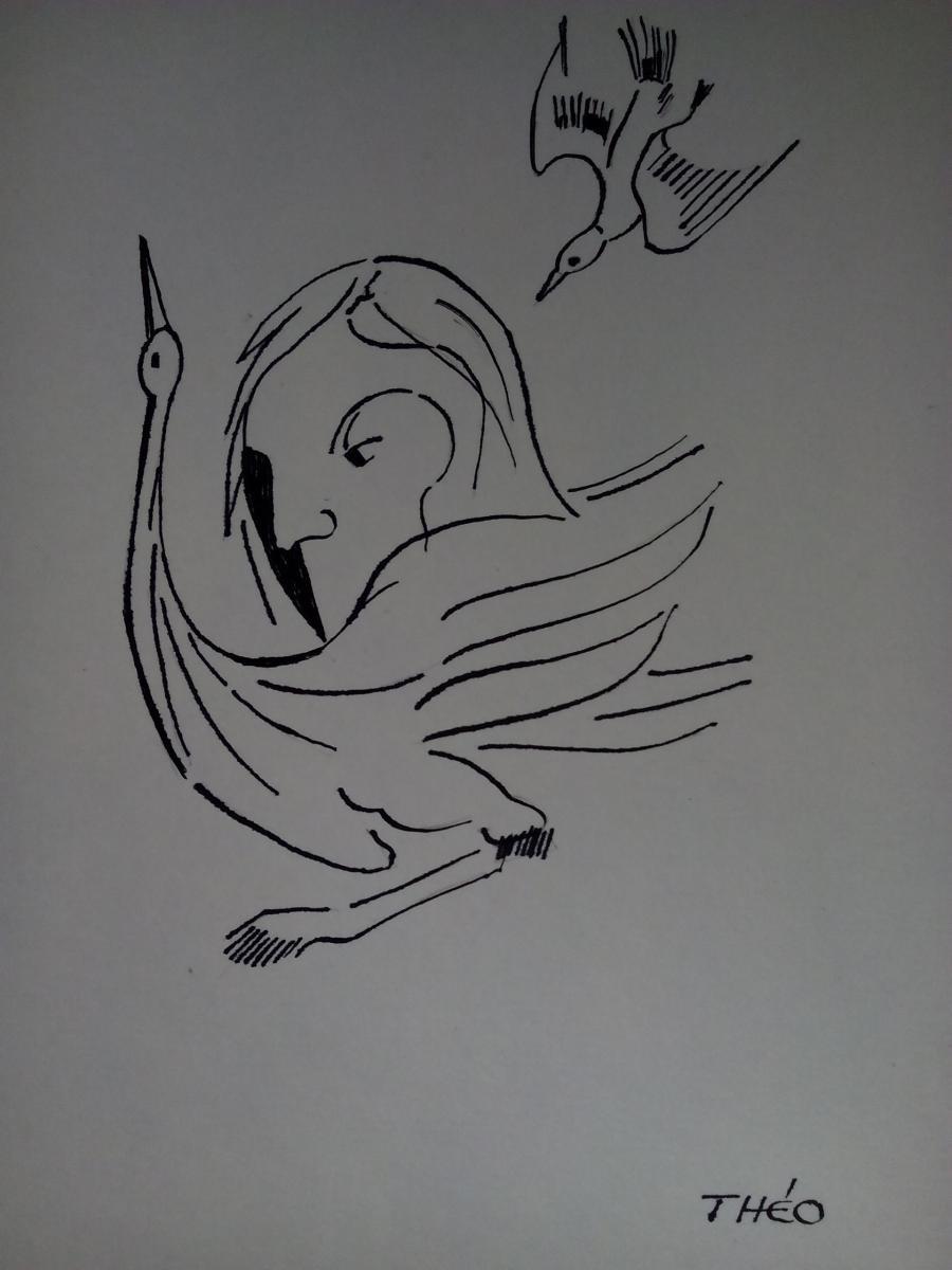 Picturi alb negru grf45