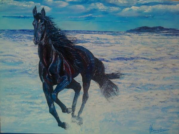 Picturi cu animale Blue