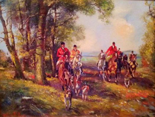 Picturi cu animale Sezonul de vanatoare