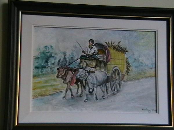 Picturi cu animale Car indian