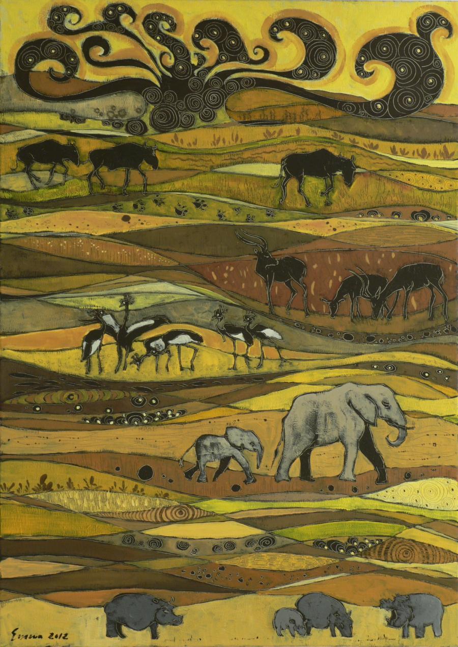 Picturi cu animale Migration