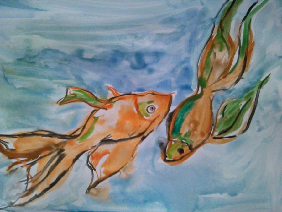 Picturi cu animale pestisorii chinezesti